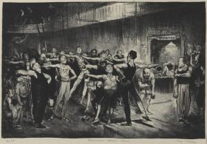 Час по бизнес, провеждан от YMCA. Източник: Wikipedia Commons, Brooklyn Museum, George Wesley Bellows