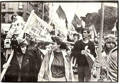 Протест срещу Войната във Виетнам, края на 1960 г.
