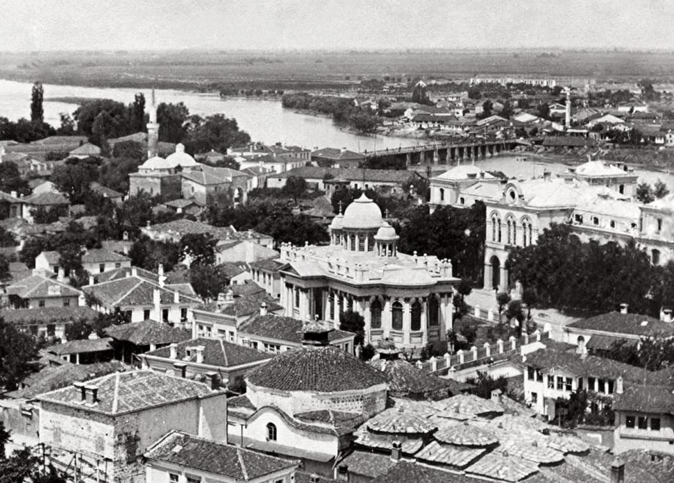 Пловдив в началото на XX в. Архитектурен спомен за срещата между Йосиф Шнитер и Пиетро Монтани. Източник: РИМ-Пловдив