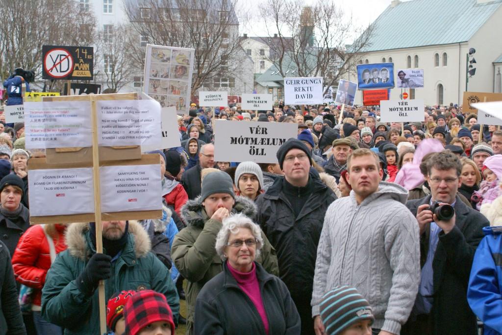 Протестите от 2008 г. Снимка: Уикипедия