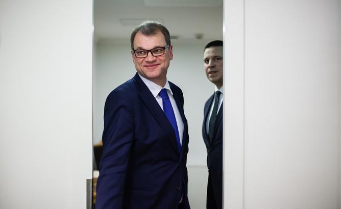Министър-председателят на Финландия, Юха Сипиля, на 7 декември 2016 г.