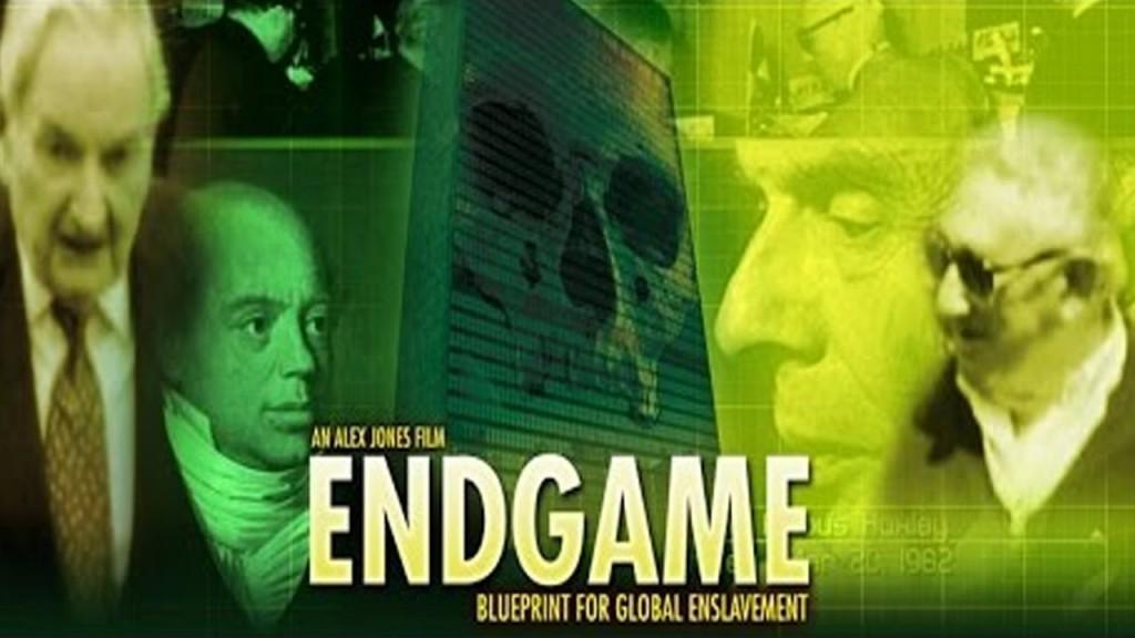 """[Изображение:endgame.jpg.Описание: Плакат на филма на Алекс Джоунс """"Край на играта: План за глобално заробване""""]"""