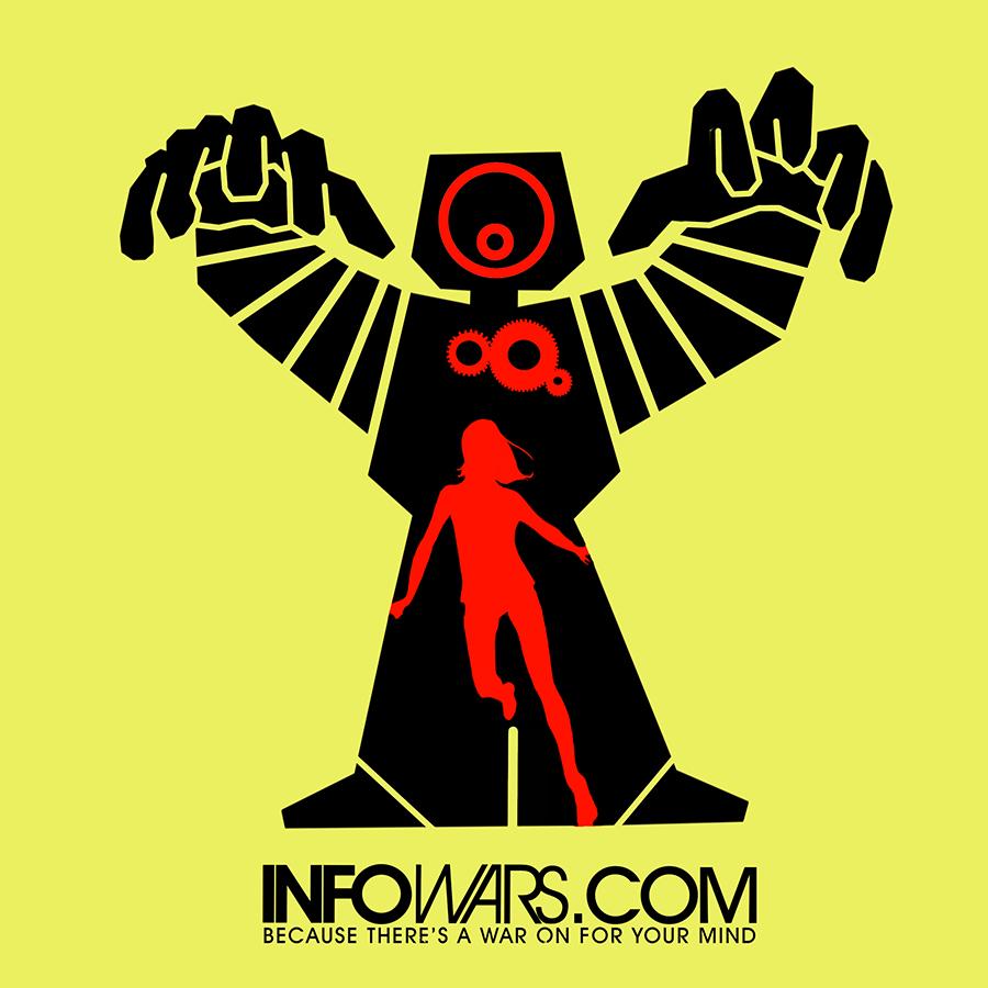 """Лого на Инфо Войни с надпис """"Защото има война за твоя разум"""""""