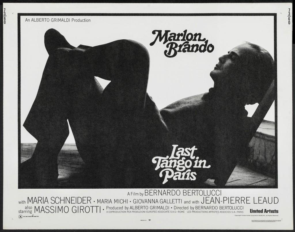 Плакатът на Последно танго в Париж