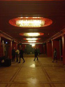 Коридорите на театъра