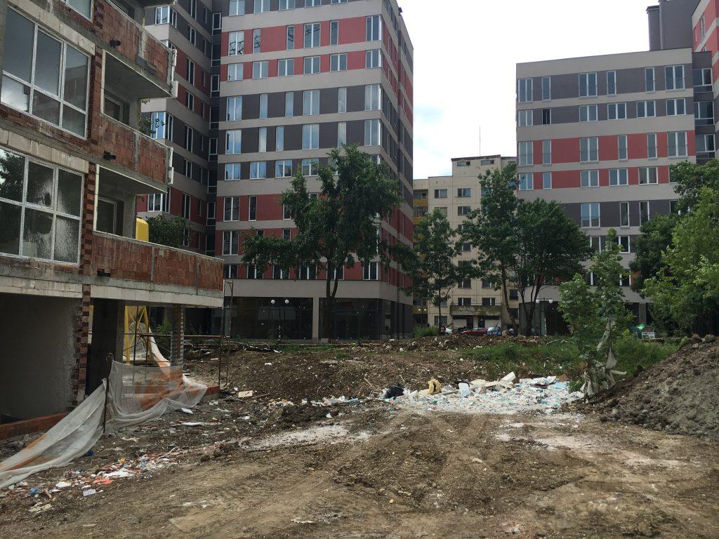 Строеж на нови кооперации в Студентски град днес, снимка Мултиполис