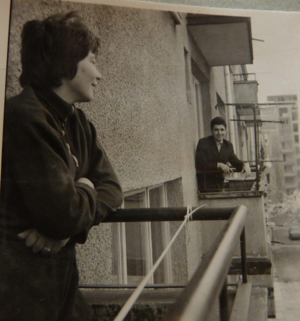 Из живота на студентите, снимка И. Дундаков, 1972, ДАА