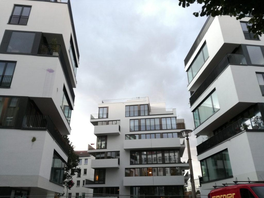 luxurious building Rigaer Str.