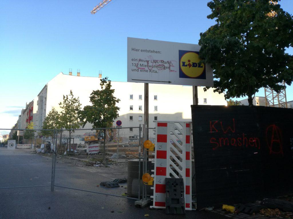 Rigaer Str. construction work