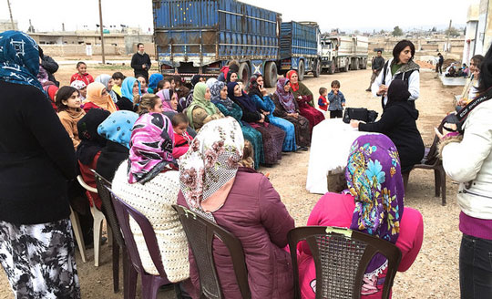 All women assembly in Rojava
