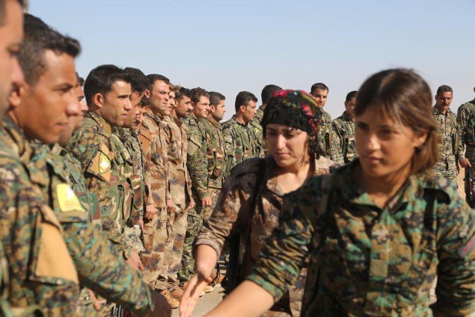 YPJ greeting YPG