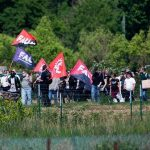 Протести и стачки на румънски работници и синдикалисти в Борнхайм